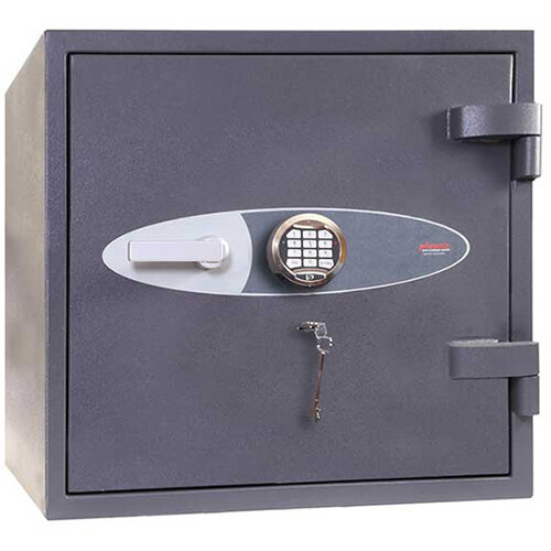 Phoenix Planet HS6071E 80L Security Safe With Electronic Lock Grey