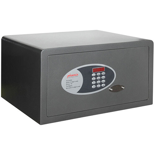 Phoenix Dione SS0312E 33L Security Safe With Electronic Lock Metalic Graphite