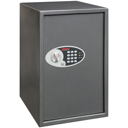 Phoenix Vela SS0805E Size 5 88L Home &Office Security Safe With Electronic Lock Metallic Graphite