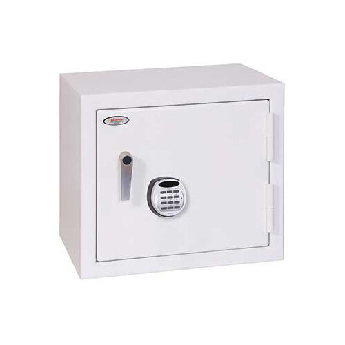 Phoenix Securstore SS1161E 119L Security Safe With Electronic Lock White