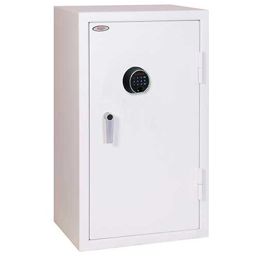 Phoenix Securstore SS1162F 240L Security Safe With Electronic Fingerprint Lock White