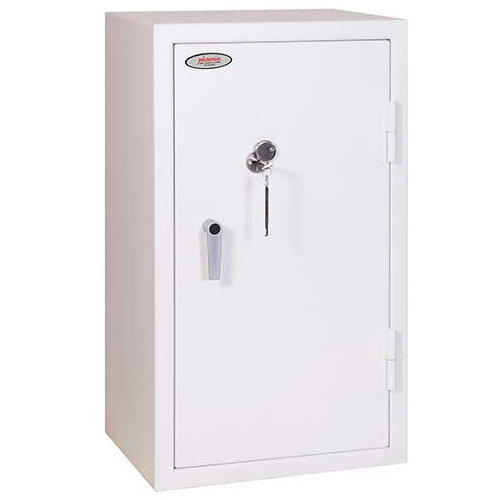 Phoenix Securstore SS1162K 240L Security Safe With Key Lock White