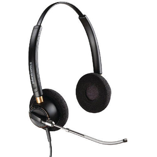 Plantronics EncorePro HW520V Customer Service Headset Binaural Voice-tube 52637
