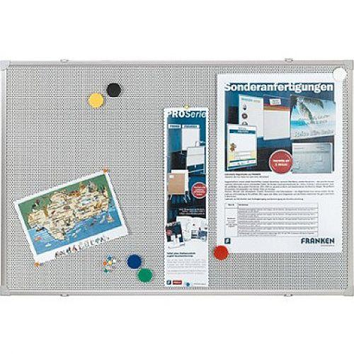 Franken Pin &Magnetic Board Grey 60 x 45cm