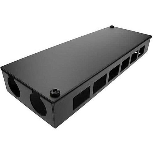 Cat 6 friendly 12 Way Cable Tidy POD Box Depth: 55mm Cable Entry: 32mm