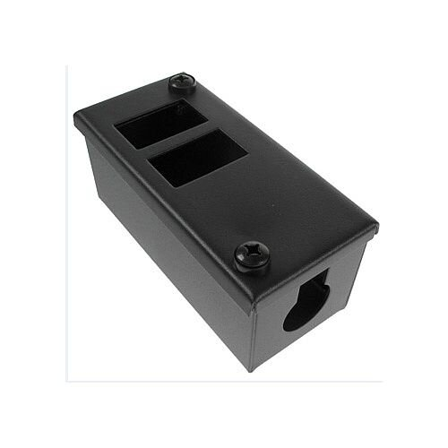 Cat 6 friendly 2 Way Cable Tidy POD Box Depth: 55mm Cable Entry: 25mm