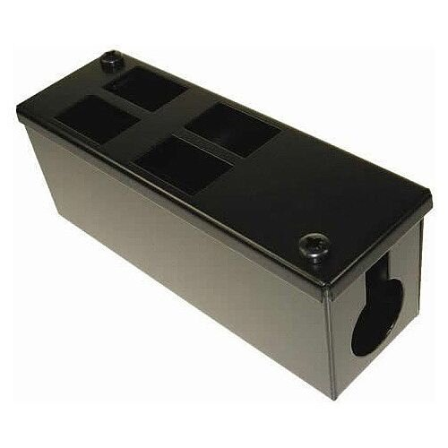 Cat 6a friendly 4 Way Cable Tidy POD Box Depth: 70mm Cable Entry: 32mm
