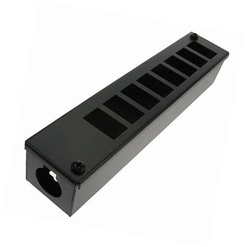 Cat 6 friendly 8 Way Cable Tidy POD Box Depth: 55mm Cable Entry: 32mm