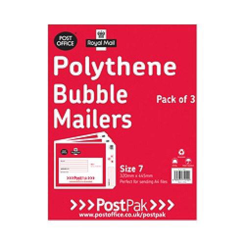 Polythene Bubble Mailer Size 7