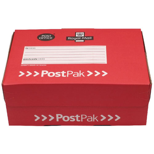 Postpak Mailing Box Small Parcel Shoe Box Pack of 20 POF71025