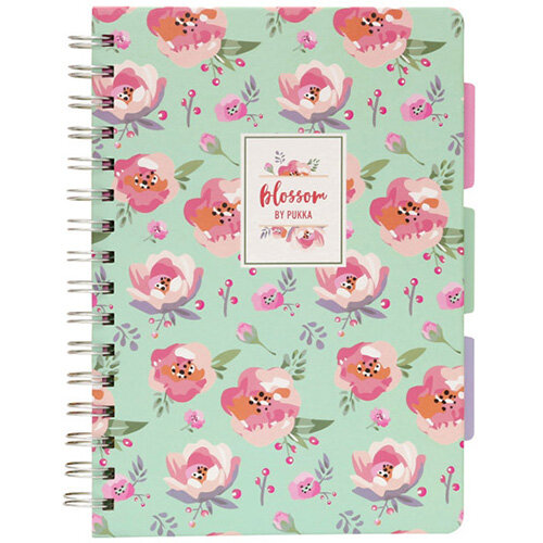 Pukka Pad Blossom Project Book A5 Pack of 3 8653-BLO