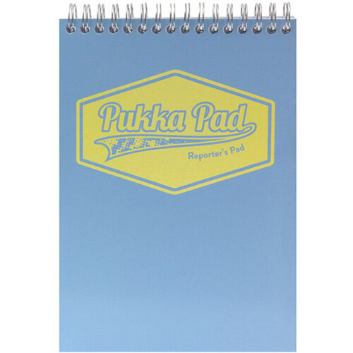 Pukka Pad Pastel Reporters Pad 140x205 Pack of 3 8907-PST