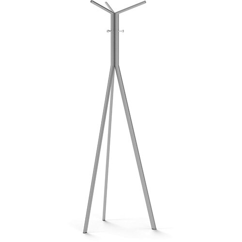 SEVEN Metallic Coat Stand with Chrome Hooks
