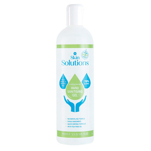 Hand Sanitising Gel 70% Alcohol 400ml X/8563