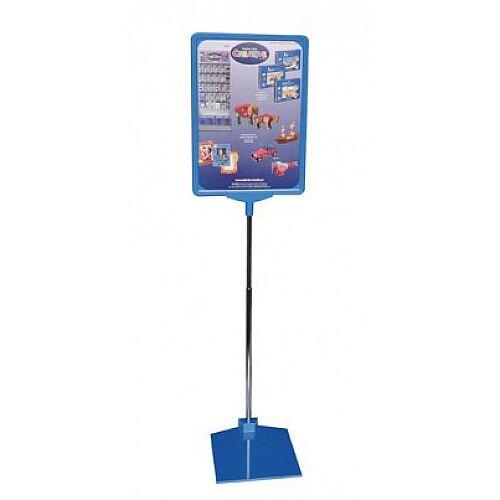 Franken Presentation Display Stand A4 Blue PSM A4 03