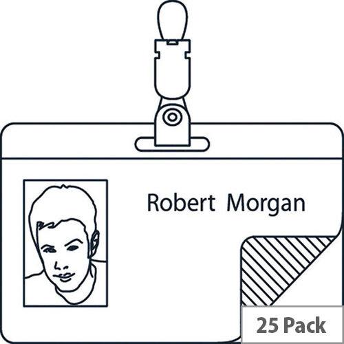 Self Laminating Badge 54x90mm Pack of 25