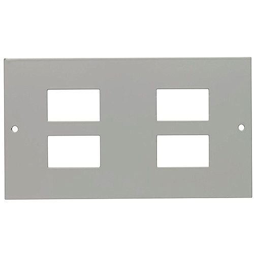 3 Compartment 4 Way LJ6C Data Plate