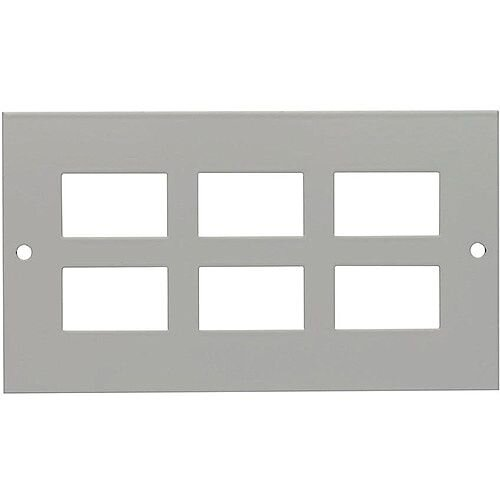 3 Compartment 6 Way LJ6C Data Plate
