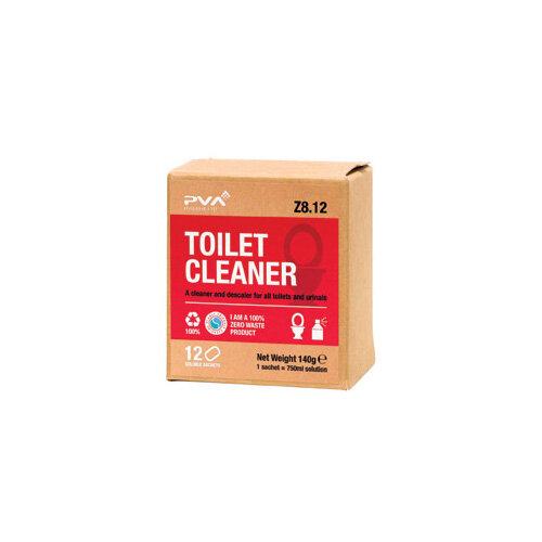 PVA Toilet Cleaner Sachets 1 Litre Pack of 12 PVAA8-12