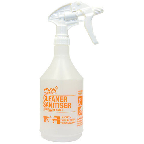 PVA Cleaner Sanitiser Trigger Spray Bottle PVAC4