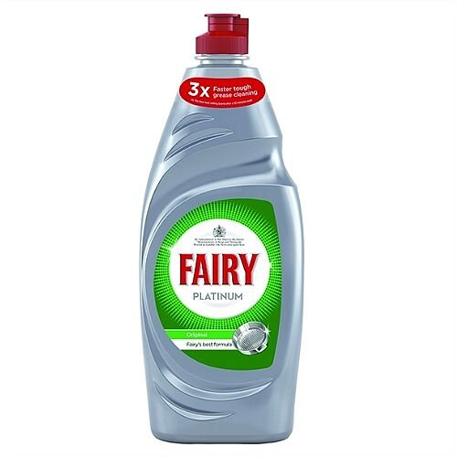Fairy Platinum Hand Dish Washing Up Liquid 615ml Pack 1