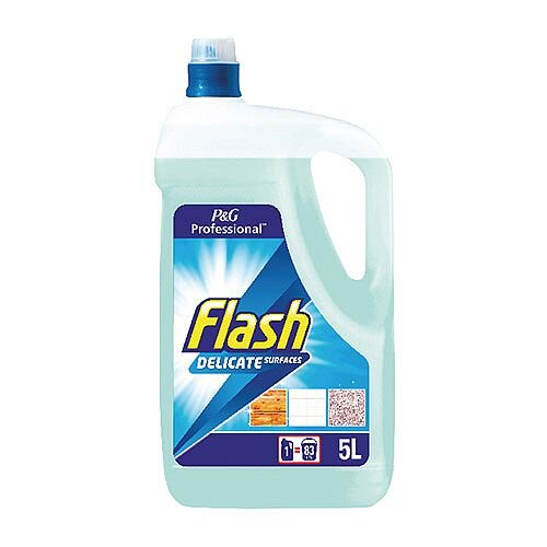 Flash Floor Cleaner All Washable Surfaces 5 Litres - Leave your floor sparkling and smelling fresh - cleaning fluid designed especially for hard floors
