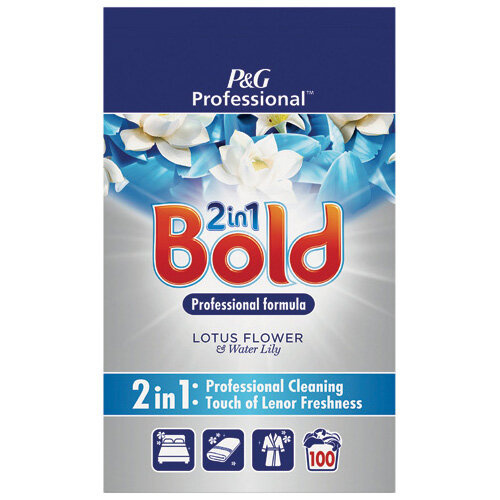 Bold Prof Laundry Powder Lotus Flower/Lilly 100 Scoops 6.5kg C003344