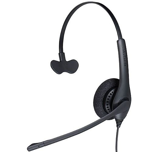 Jabra BIZ 1500 Headset Wired Mono Over-the-head Supra-aural 95cm Cable Quick Disconnect
