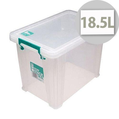 StoreStack 18.5L Plastic Storage Box W400xD260xH290mm RB11086