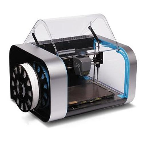 Robox Dual Material 3D Printer - Dual Print Jets - Black/Silver