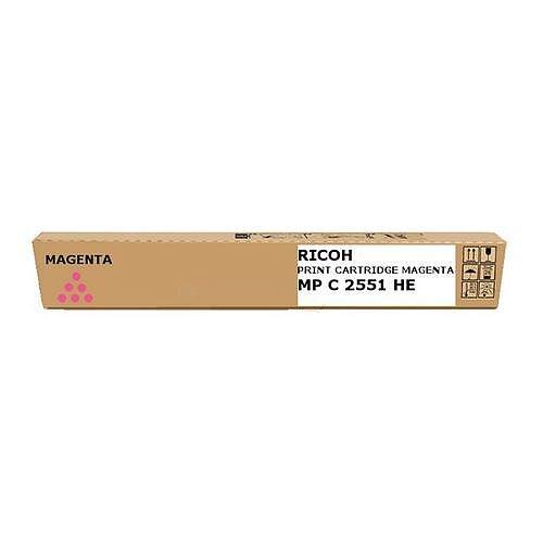 Ricoh 841506 Magenta Toner Cartridge Aficio MPC2051/2551