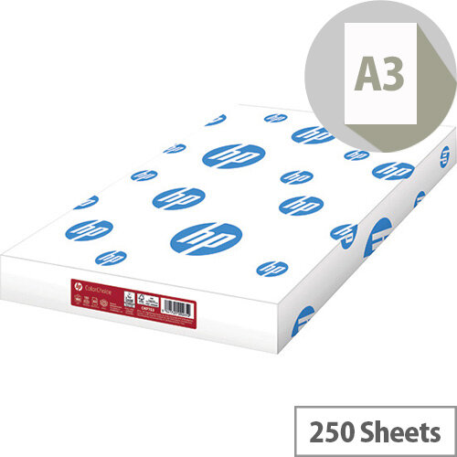 HP Color Choice White A3 160gsm Pack of 250 CHPCC160X410