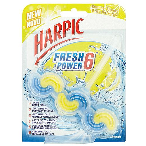 Harpic Fresh Toilet Bowl Power Block Summer Breeze 39g Pack 1 3022797