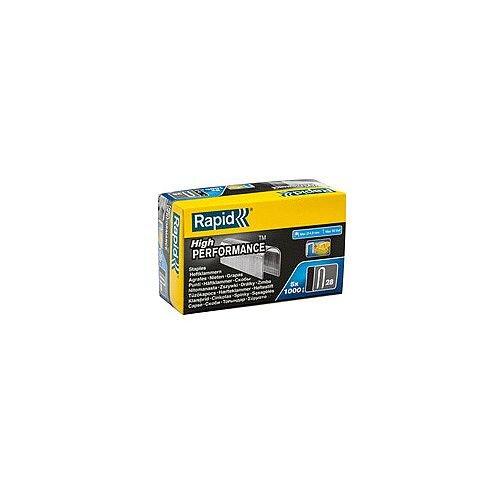 28 x 10mm Rapid Staples box 5000