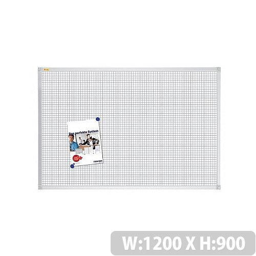 Franken Grid Board ValueLine 1200x900mm Lacquered Steel RT3803