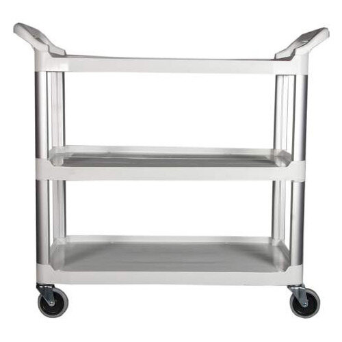 Rubbermaid X-Tra Open Cart White