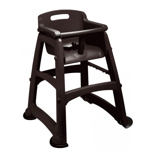 Rubbermaid Sturdy Baby Chair with Feet Black