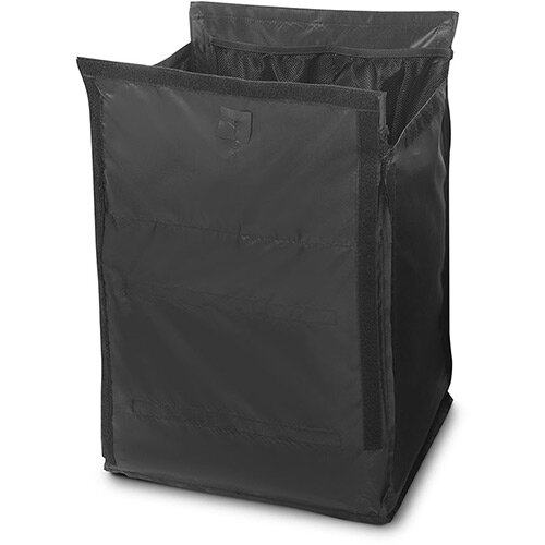Rubbermaid Quick Cart Replacement Large Liner Black