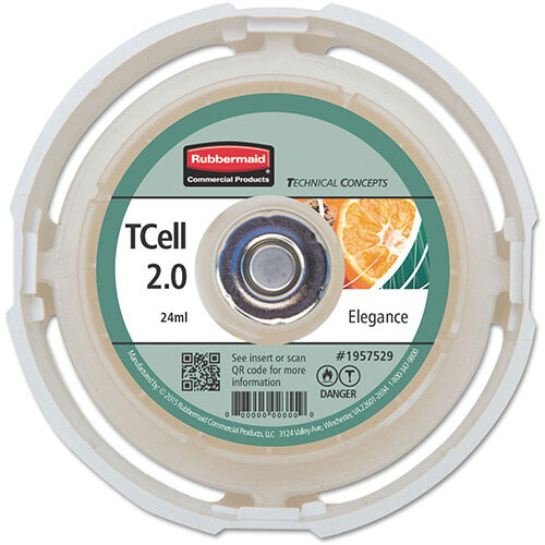 Rubbermaid Passive Air Care T-Cell 2.0 Airfreshener Dispenser Refill Cartridge Elegance