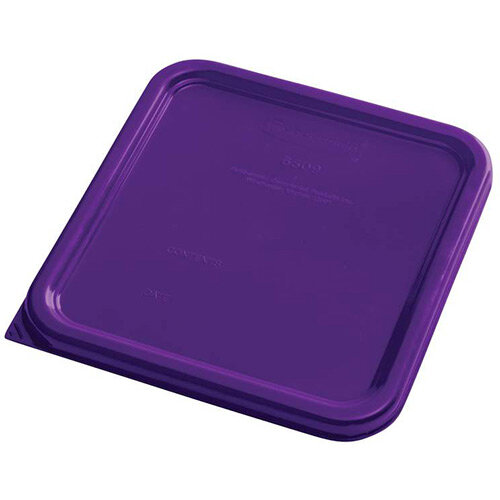 Rubbermaid Small Lid for 3.8L &7.6L Space Saving Square Food Storage Containers Purple