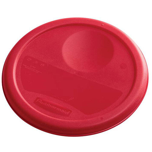 Rubbermaid Small Lid For 3.8L Round Food Storage Containers Red