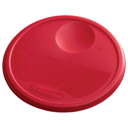 Rubbermaid Large Lid For 11.4L, 17L &20.8L Round Food Storage Containers Red