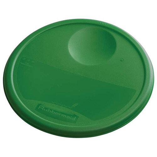 Rubbermaid Large Lid For 11.4L, 17L &20.8L Round Food Storage Containers Green