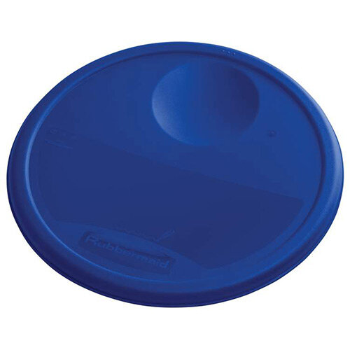 Rubbermaid Large Lid For 11.4L, 17L &20.8L Round Food Storage Containers Blue