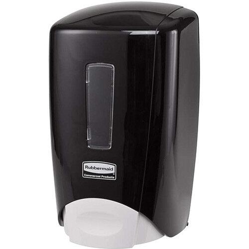 Rubbermaid Flex Manual Skin Care System 500ml Soap Dispenser Black