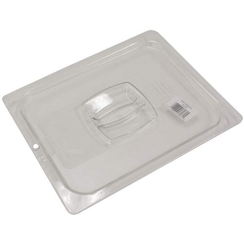 Rubbermaid 1/2 Size Gastronorm Hard Cover with Peg Hole For Cold Food Clear