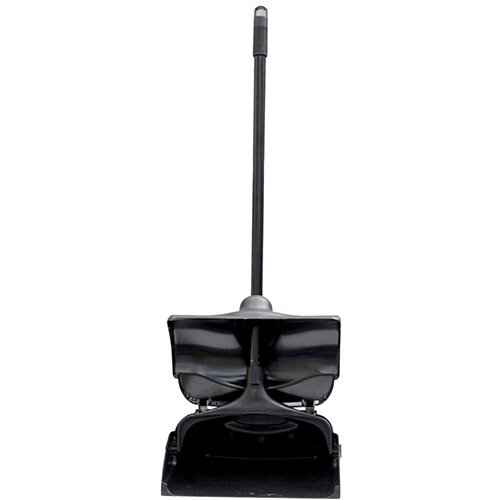 Rubbermaid 12-4/5-In Executive Series Lobby Pro Upright Dust Pan With Lid Black
