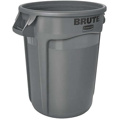 Rubbermaid BRUTE 37.9L Round Container Grey