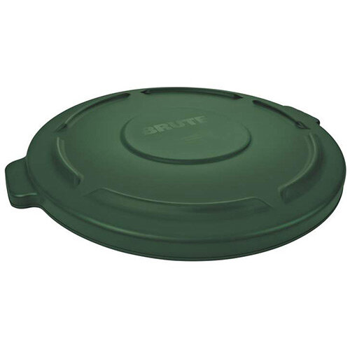 Rubbermaid Snap on Lid for FG2632 121.1L BRUTE Round Containers Green