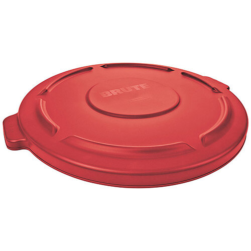 Rubbermaid Lid for 166.6L BRUTE Containers Red